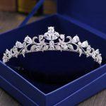Gorgeous Cubic Zirconia <b>Wedding</b> Tiara CZ Bridal Headband Queen Princess Pageant Party Crown Hair Accessories Women Hair <b>Jewelry</b>