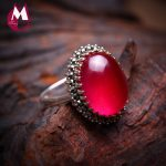 16*12 Natural Red Chalcedony Jade Ring 100% 925 Sterling <b>Silver</b> Ring For Women Prong Setting Gemstones Wedding Fine <b>Jewelry</b> SR05