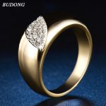 BUDONG New Arrival Exquisite Unique <b>Jewelry</b> Ring Minimalist Victoria <b>Antique</b> High Quality Wedding Rings for Women XUR578