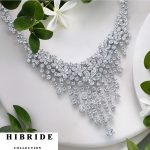 HIBRIDE Luxury Shiny Crystal CZ Stone Pendant <b>Necklace</b> Women <b>Jewelry</b> Sets Trendy Style For Female Party Gifts N-216