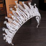 Baroque vintage wedding hair accessories bridal tiara for women crystal multilayers pearl queen crown noiva diadem hair <b>jewelry</b>