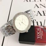 Fashion <b>Silver</b> Ladies Watch Women Watches Luxury Rhinestone Full Steel Women's Watches Clock saat relogio feminino