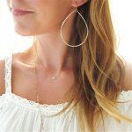 Gold Hoop Earrings <b>Handmade</b> Vintage <b>Jewelry</b> Customize 14 Gold Filled Orecchini Brincos Oorbellen Pendientes Earrings for Women