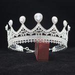 Adjustable Zirconia Queen Bridal Tiara Crowns Bride Headbands Women Prom Diadem Headpiece <b>Wedding</b> Bride Hair <b>Jewelry</b> Accessories
