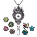 10pcs/lot Multi Style Working ID Holder Lanyard Snaps Pendant <b>Necklace</b> 18mm Snap Button <b>Jewelry</b> Snaps <b>Necklace</b> For Snap <b>Jewelry</b>