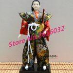 30cm Samurai Japanese humanoid Doll Restaurant <b>supplies</b> gift <b>jewelry</b> ornaments Home Furnishing Restaurant #3607