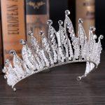 Magnificent Crystal Queen King Crown Diadem Women bridal <b>Wedding</b> Pageant Prom Tiara Headdress <b>Wedding</b> Hair <b>Jewelry</b> Accessories