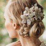 Beaded Hair Comb <b>Wedding</b> Hair Accessories Bride <b>Jewelry</b> Tiara Combs Headpiece Tocados Para Novias Bijoux Cheveux WIGO0933