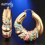 Hoop Earrings Vintage Bohemian <b>Jewelry</b> For Women Girl Mix Silver Color Gift Classic Style Ethnic Big Trendy <b>Fashion</b> Accessories