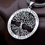 925 Sterling Silver Pendant 100% Real Pure Genuine S925 Solid Thai Silver Tree Pendants for Men Women <b>Jewelry</b> <b>Making</b>