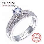 SONA CZ Diamant Engagement Rings Set 925 Sterling Silver Rings For Women Band Wedding Rings Promise Rings Bridal <b>Jewelry</b> AR131