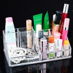 Factory <b>Supply</b> Clear Plastic Storage Organizer For Cosmetic <b>Jewelry</b> Holder Rack