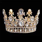 Baroque Luxury Hair <b>Jewelry</b> Bridal Crown Tiaras Crystal Diadem Tiaras for Bride Headbands <b>Wedding</b> Hair Accessories