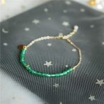 Personalized <b>Handmade</b> Natural crystal beads Bracelets Elegant Customize Gold Wrap Fillde Bangles Charm Vintage <b>Jewelry</b> for Women