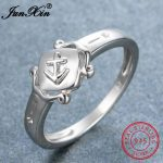 JUNXIN 100% Real 925 Sterling Silver Sagittarius Rings For Women Fashion <b>Jewelry</b> <b>Accessories</b> Vintage Engagement Ring