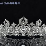 Brand New Flower Tiara Crown Head Pieces Rhinestone Women's Prom <b>Wedding</b> <b>Jewelry</b> 8642 Free Shipping