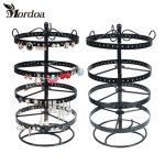 Mordoa HOT Sale 188 Holes Earrings <b>Necklace</b> Ear Studs <b>Jewelry</b> Display Rack Metal Stand Organizer Holder Display Shelf