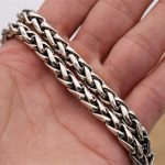 6mm Wide 100% Pure 925 Sterling <b>Silver</b> Chains <b>Necklaces</b> for Men Sterling <b>Silver</b> <b>Necklace</b> Accessories 18-32 inch