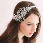 Dower me Stunning Crystal Wedding Hair Vine Silver Bridal Accessories <b>Handmade</b> Headband Women <b>Jewelry</b>