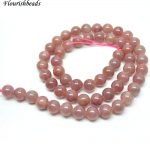 2 strands Natural Ruby Stone Round Loose Beads 4~5mm 5~6mm 7~8mm DIY <b>Jewelry</b> making <b>supplies</b>