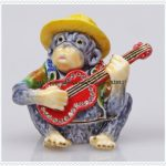 Monkey Bejeweled Collectible Trinket <b>Jewelry</b> Box Pewter Keepsake <b>Jewelry</b> Pill Box Monkey <b>Jewelry</b> Box