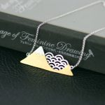 Lotus Fun Real 925 <b>Sterling</b> <b>Silver</b> Handmade Designer Fine <b>Jewelry</b> Poetic Cloud Mountain Necklace with Pendant for Women Collier