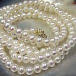 Natural AAA Round 8-9mm South Sea White Pearl <b>Necklace</b> 25″ >>> women jewerly Free shipping