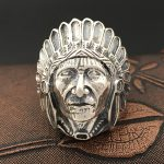 S925 Sterling Silver <b>Jewelry</b> <b>Handmade</b> Retro Thai Silver Personalized Ring Men's Indian Emirates Ring