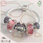 Very Nice Girl Baby <b>Silver</b> <b>Jewelry</b> Gift 925 <b>Silver</b> Snake Bracelet With <b>Silver</b> Cartoon Mouse Charm For Children