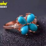 Real Turquoise ring 100% natural gem stone genuine solid <b>sterling</b> <b>silver</b> women <b>jewelry</b> lady rings