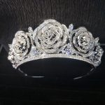 36pcs/Sets Bridal <b>Wedding</b> Tiaras and Crowns Sliver Hair Crown Crystal Large Crown for Women Hair <b>Jewelry</b> Accessories Wholesale