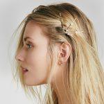 eManco Wholesale Heart Shaped Arrow 4 Pieces One Set Barrettes Ancient Gold Color Zinc Alloy 2018 New Arrivals Hair <b>Jewelry</b>