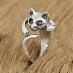 S925 factory wholesale silver <b>jewelry</b> <b>handmade</b> retro Silver Ring female cat eye ring ring