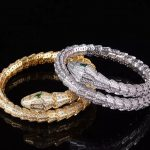 Designer <b>Fashion</b> 925 Sterling Silver <b>Jewelry</b> 3A Cubic Zirconia Party Snake Bangle