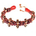 NEW skull bracelet men umbrella rope diy <b>handmade</b> red rope fashion trendy charm bracelets bangles gift <b>jewelry</b> bohemia