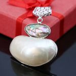 24*44mm Abalone freshwater pearl beads Accessories pendant necklace <b>making</b> <b>jewelry</b> crafts DIY prevalent women girls gifts