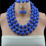 2017 <b>Handmade</b> Dubai <b>Jewelry</b> Sets Gold-color Fashion Big Nigerian Wedding African Beads <b>Jewelry</b> Sets Costume Dubai