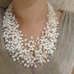 30 Layers <b>Wedding</b> Pearl Necklace Starriness Floating Freshwater Pearl Necklace Fashion Design Necklace For Women <b>Jewelry</b> Culture