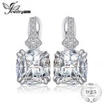 JewelryPalace Vintage 3.5ct Cushion-Cut Cubic Zirconia Clip On Earrings Fashion 925 Sterling Silver <b>Wedding</b> <b>Jewelry</b> For Girl