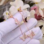2018 new fashion 925 Silver Sterling <b>Jewelry</b> For Women Butterfly Tassel Earrings <b>necklace</b> party brand <b>jewelry</b> set