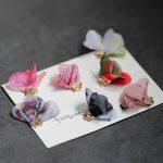New Arrival Colorful Chiffon Fabric Flower Tassels 70MM <b>handmade</b> Floral Tassel Charms Pendants Fit Girls Earring Necklace DIY