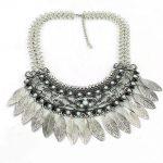 JIANXI Fashion Vintage <b>Antique</b> hollow tassel pendant Necklaces Leaves chain Statement Choker Lady <b>jewelry</b> wholesale retail