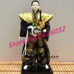 30cm Samurai Japanese humanoid Doll Restaurant <b>supplies</b> gift <b>jewelry</b> ornaments Home Furnishing Restaurant #3602