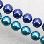 Two colors available Deep blue/blue glass pearl necklace set 12mm necklace 18″bracelet 7.5″ earring women fashion <b>jewelry</b> <b>making</b>