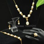 925 <b>Silver</b> Natural White HeTian Jade Beads Inlay Gem Stone Lucky Pendant Necklace Bracelet <b>Earring</b> Ring Fine Woman's Jewelry Set