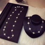 Pure 925 Sterling Silver <b>Jewelry</b> For Women Luck Flower Neckalce 10 /20 Flower Pendant Clover Sakura <b>Wedding</b> Party Necklace