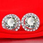 925 Sterling <b>Silver</b> <b>Earrings</b> and women's anti allergic type <b>silver</b> jewelry wholesale custom