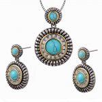 Green Crystal Zircon White Crystal Zircon Pendant&Earrings Women 925 Sterling <b>Silver</b> Fashion Jewelry Set Pendant&Earrings TT694