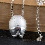 925 Silver Fish Pendant Necklace for Women chicken Accessorice 45cm Link Chain S925 Thai Solid Silver <b>Jewelry</b> <b>Making</b> Necklaces