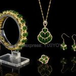 925 <b>Silver</b> Natural Green HeTian Jade Beads Inlay Flower Lucky Pendant Necklace Bracelet <b>Earring</b> Ring Woman's Fine Jewelry Set